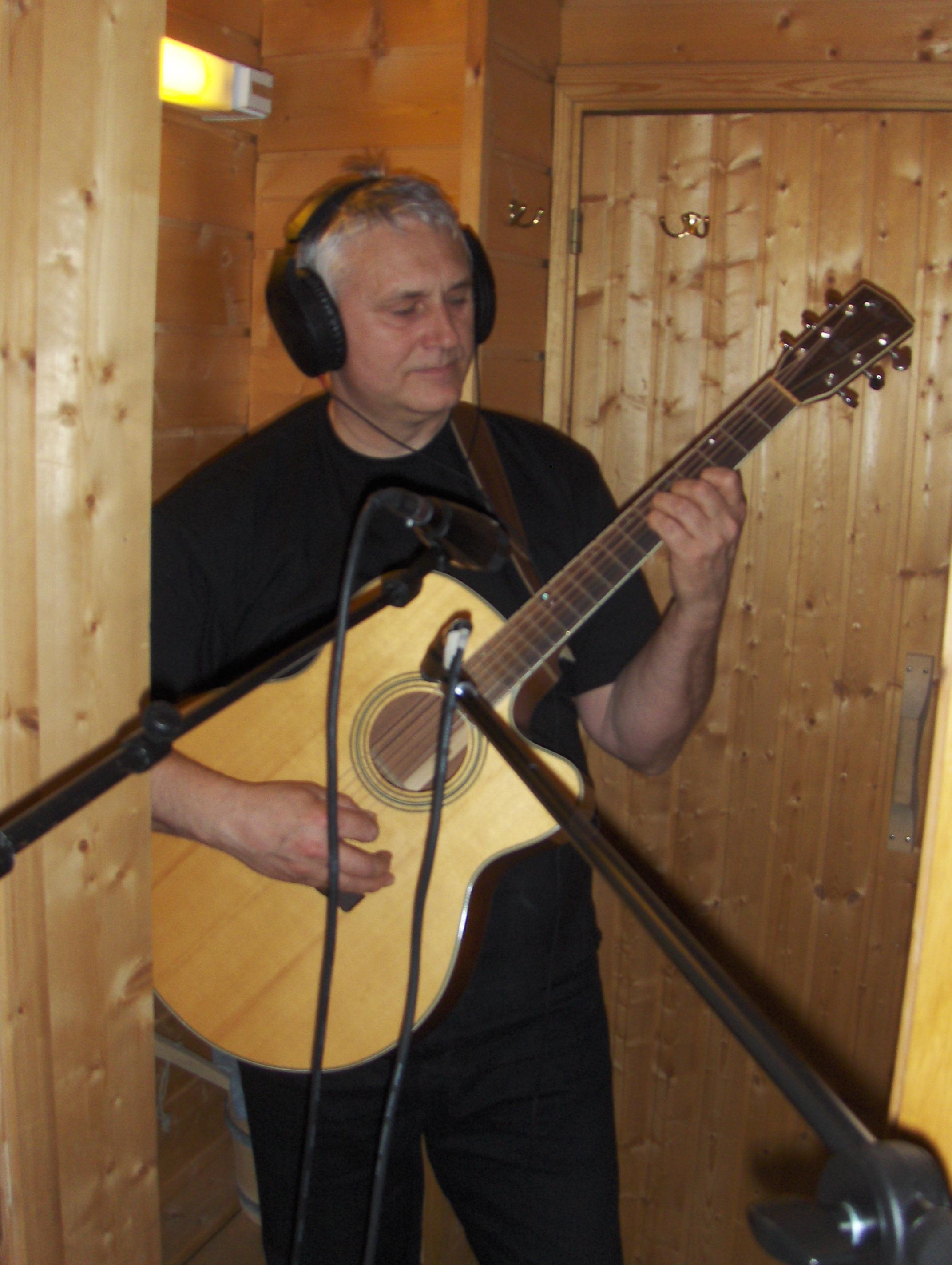 Dag mått ta med den akustiske gitaren til badstua.