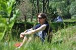 Anders i graset på Skuterud Gård 2010