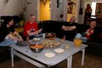 Anders, Sigmund,Dag og Jan på Manglerud Ungdomshus 2010