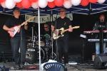 Anders, Dag, Morten, Sigmund, Jan, Adelheid på Melafestival Årvoll 2010