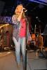 Adelheid sang Real Life og Løvblad, og var med på Hurricane.
