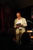 Lars Poverud leste flotte, spennende dikt.