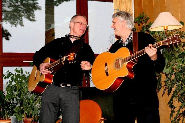 Sigmund og Dag på Montebello julaften 2009